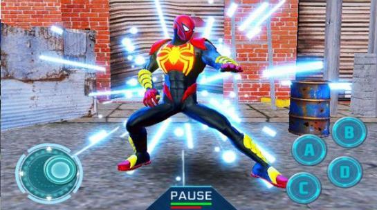 超级蜘蛛侠绳索忍者无限金币版v2.0 免费版