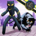 黑豹火柴人绳索英雄单机版v1.0 中文版