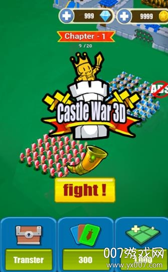 城堡冲突手游3D版v1.0 苹果版