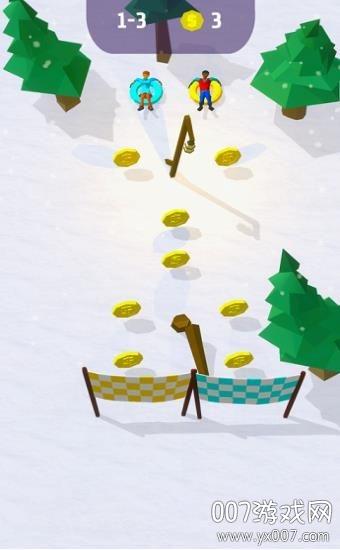Snowdown雪地版v1.0 苹果版