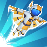 Space Surfers飞行跑酷中文版v1.0.1 最新版