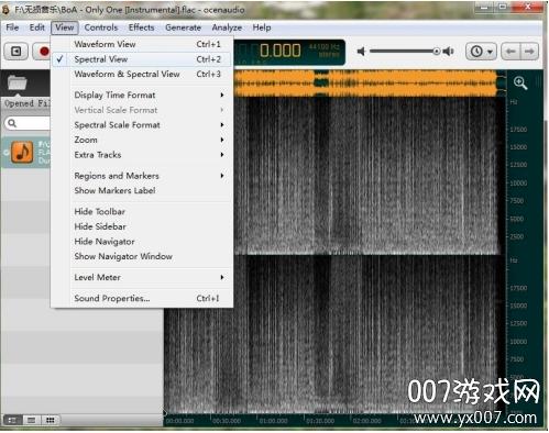ocenaudio音频编辑工具免费版v3.9.3 中文版