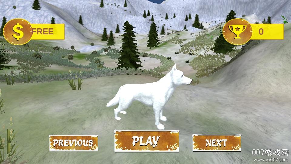 北极狼家庭模拟器生存模拟破解版