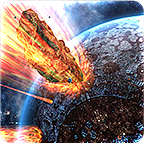 3d星空陨石动态壁纸汉化版v1.0.0 正式版