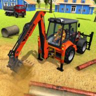 挖掘机城市破坏破解版v2.4 单机版