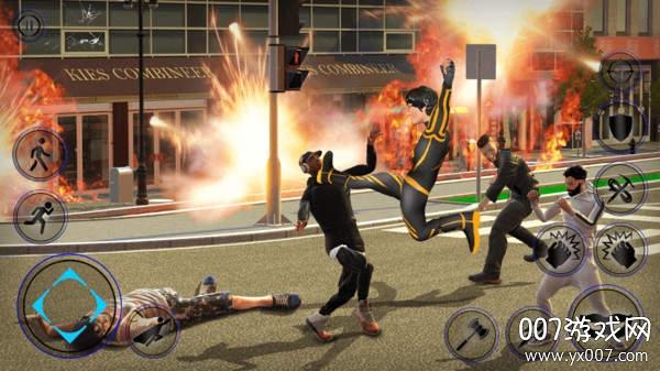 未来钢铁侠绳索英雄修改全英雄版v1.1 单机版