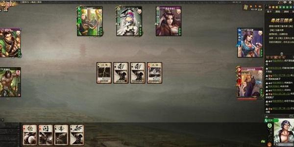 三国卡牌类游戏