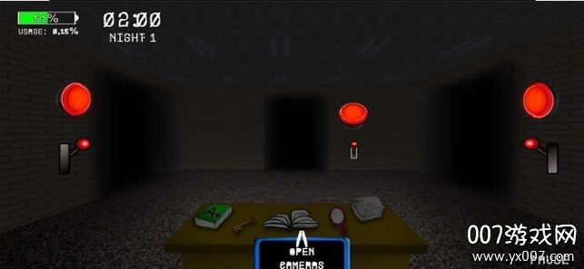 学校的五个可怕夜晚暗黑版v1.0苹果版