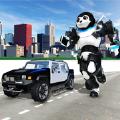 熊猫机器人汽车大战3D版v1.0 ios版