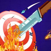 愤怒的飞刀闯关解锁版v1.0 苹果版