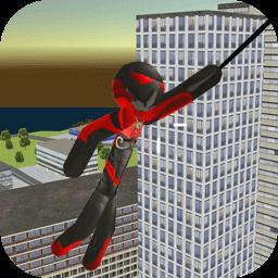 火柴人蜘蛛英雄无限金币版v1.0 最新版