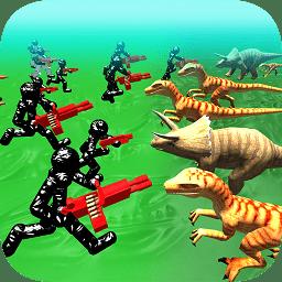 恐龙战争模拟器官方破解版v1.03 安卓版