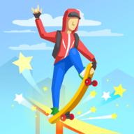 滑板冲刺安卓汉化无限金币版v1.9 最新版