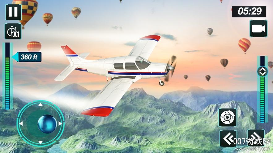 飞机飞行模拟器2020官方版v1.0 苹果版
