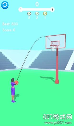 传球高手趣味投篮闯关版v1.8 安卓版