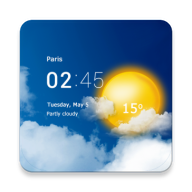 透明时钟及天气桌面设计APP版v5.0.v5.0.0.2 最新版