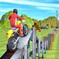 自行车特技赛车3D中文版v1 无敌版