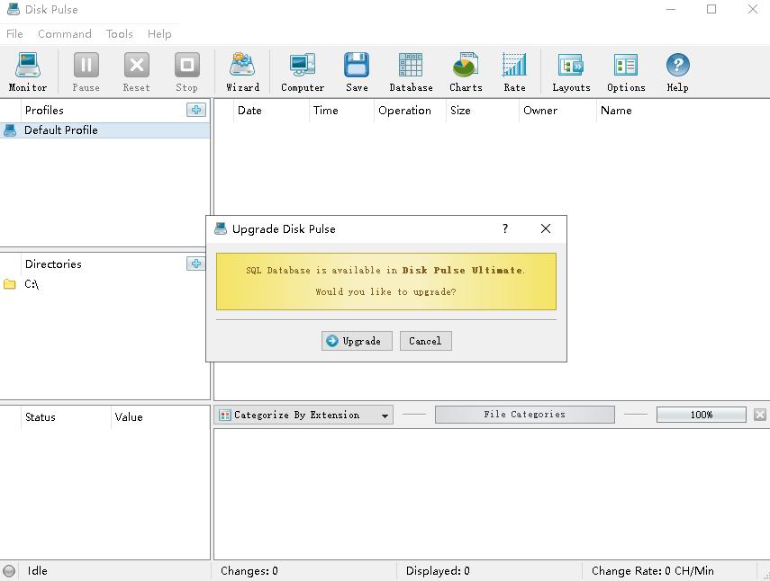 DiskPulse磁盘监测工具绿色中文版v13.4.18免费版